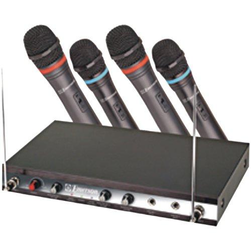 Emerson WM340 VHF 4-Channel Karaoke Wireless System ()