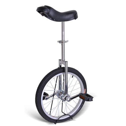 Gorilla Unicycles- Chrome 18 Inch Wheel Unicycle
