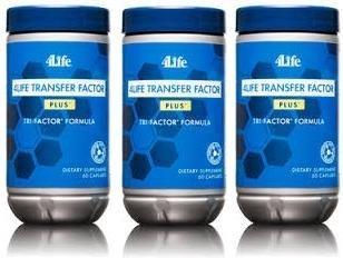 x 3 Transfer Factor Plus Tri-factor - (60 count) 3 Bottles by Transfer Factor Plus Tri-Factor