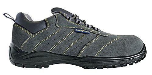 Chaussure De Travail Goodyear G8000 S1p Src En Daim Avec Embout En Composite Et Semelle Anti-perforation