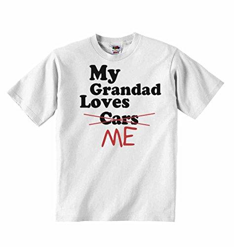Loves as personalizadas 6 ni os Camisetas Me Grandad unisex My Not Ropa meses para Cars ni Camiseta de Blanco 3 B058w
