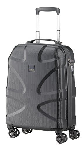 Titan Luggage & Travel Gear X2 International Carry on 20'' hardside Spinner Luggage, black