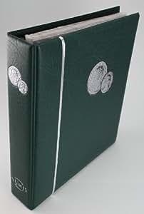Leuchtturm 300115 Álbum para monedas NUMIS, incl. 5 hojas, verde