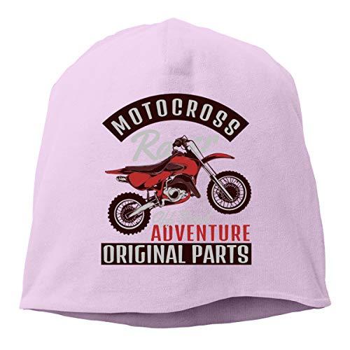 YU YuYu Motocross Hip-Hop Beanies Knitted Hat Pink