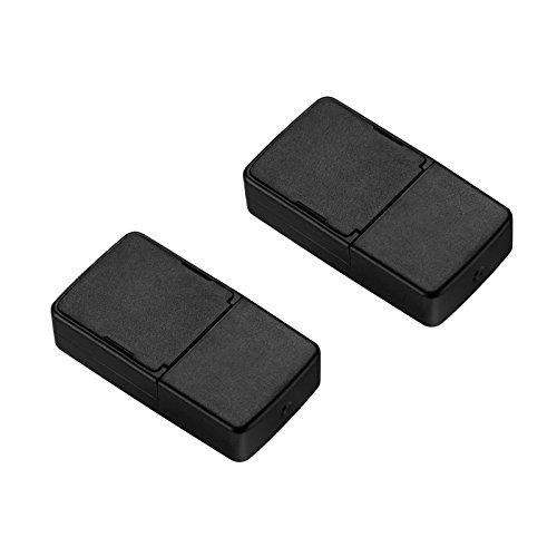 Lanlan Black USB Charger 2pcs