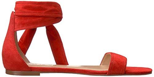 Ivanka Trump Women's Carthe Flat Sandal Red Ua1kf