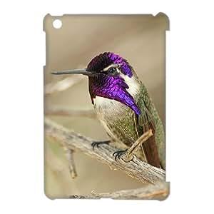 3D Case Of Hummingbird 3D Bumper Plastic Customized Case For iPad Mini