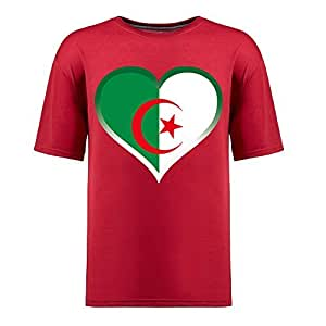 Brasil 2014 FIFA World Cup Mens Football Background Short Sleeve Cotton T-shirt for Fans red