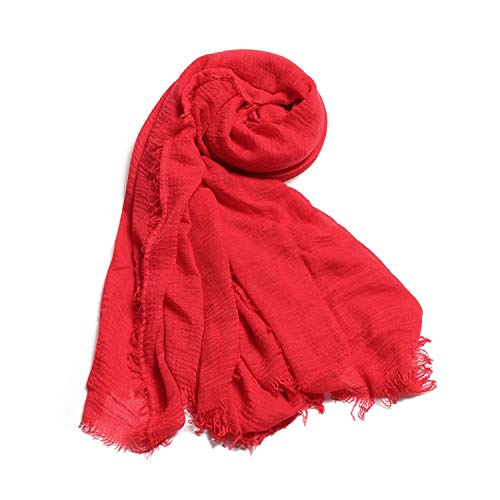 Muffler Muslim 1 Women Scarf Cashmere Warm Fringes PC 12 Cotton Winter Headband Scarf n8qrPwgx84