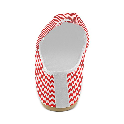 Mocassini Da Donna Di Interestprint Classico Su Tela Casual Slip On Fashion Shoes Sneakers Flat Multi 9