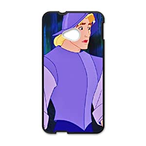 HTC One M7 Cell Phone Case Black Disney Pocahontas Character Captain John Smith