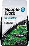 Seachem Flourite Black Clay Gravel - Stable Porous Natural...