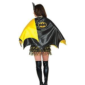 Rubies Womens Dc Comics Batgirl Deluxe 30 Inch Cape Black One Size