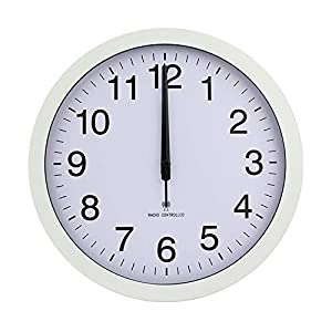 Wall clock Reloj hogar Sala de Estar Dormitorio Reloj de Pared Concha de Metal Espejo de Cristal dial de PVC Movimiento de la Onda eléctrica 2 Pilas AA (no Incluidas) Sala de Estar Dormitorio Oficina 12