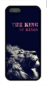 The King Of Kings Cover Case Skin for iPhone 5 5S Soft TPU Black