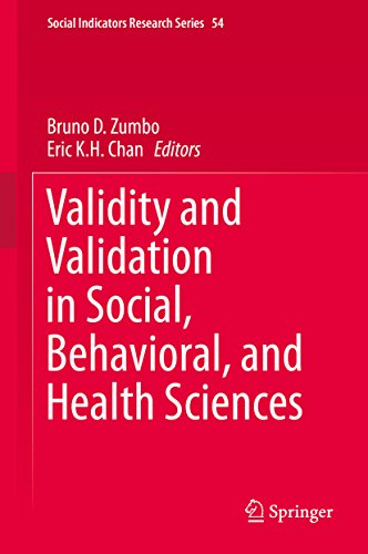Validity and Validation in Social, Behavioral, and Health Sciences (Social Indicators Research Series Book 54)