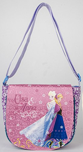 Disney Frozen Deluxe Anna Elsa Brand New Girls Fashionable Purse (Pink) (Monster High Costumes At Walmart)