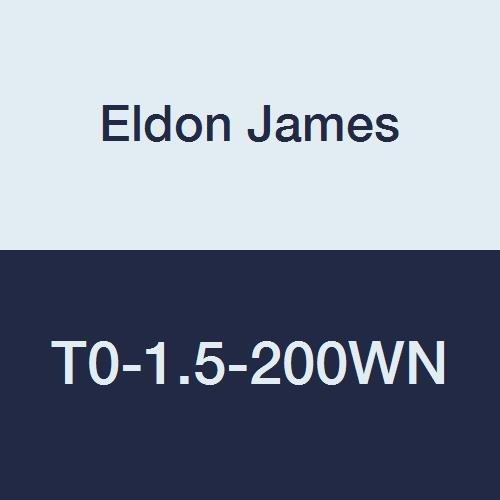 Pack of 10 Eldon James T0-1.5-200WN Nylon Equal Barb Tee White 3//32 Hose Barb 3//32 Hose Barb