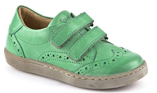 FRODDO Leder Low Top Sneaker Halbschuhe grün