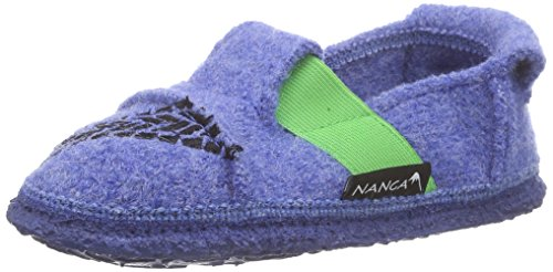 Nanga NangaSuper Bike - pantuflas Niños Azul - Blau (Himmelblau 39)