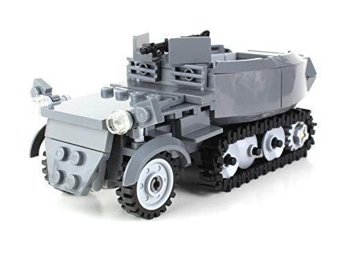 Battle Brick German WW2 Half Track Sd.Kfz. 250 WW2 Custom Set