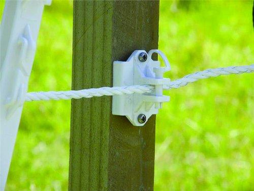 (Patriot Jumbo Dual-Purpose Pin-Lock Insulators, White, Pack of)