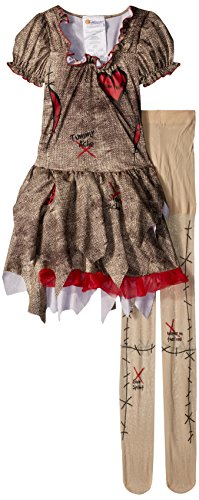 California Costumes Voodoo Dolly Costume, Tan/Red, Medium