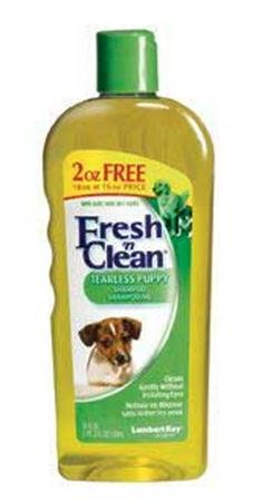 Fresh N Clean Tearless Puppy  Shampoo, Light Vanilla Scent, 18 Fl Oz(533 ml)