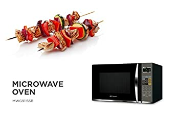 Emerson 1.2 Cu. Ft. 1100w Griller Microwave Oven With Touch Control, Stainless Steel, Mwg9115sb 8