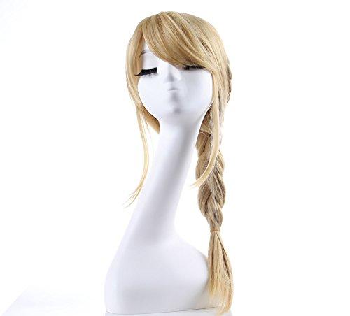 Astrid Dragon 2 Costume (Astrid Cosplay wig Long Ponytail Hair Costume Accessories for Halloween Blonde)