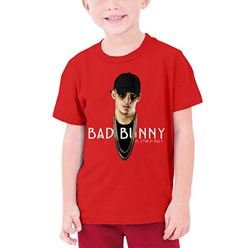 Quxueyuannan Children's T-Shirt, Bad Rabbit&Bunny Pattern Shirt Short Sleeve Cotton Graphic Tee Girls Boys Kids]()
