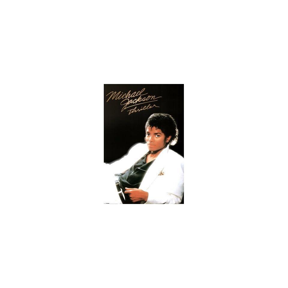 Michael Jackson    Thriller Album Cover Poster