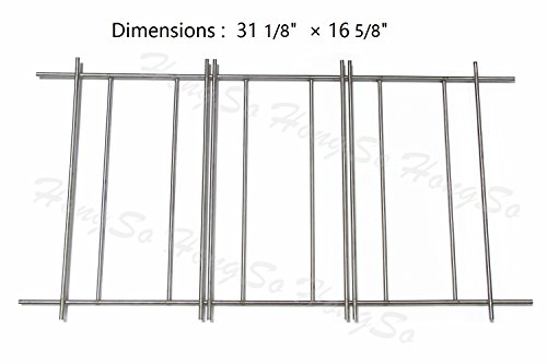 Hongso SC001 (1-pack) Universal Members Mark Flame Tamer Rack Replacement P01722001B, Sams (Monarch Grills)