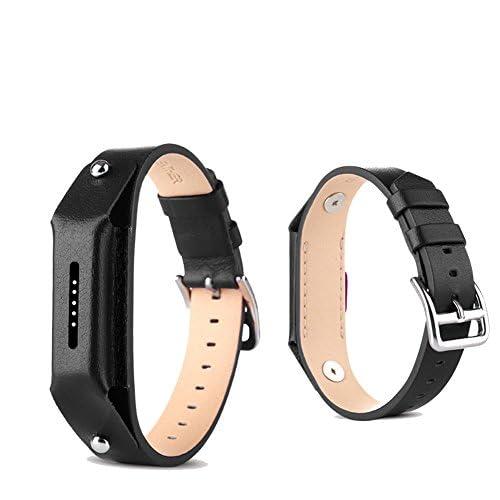 Fitbit Flex 2Bracelet cuir Pinhen réglable de remplacement Cuir Coque en silicone Bracelets sommeil avec fermoirs pour Fitbit Flex 2bandes de suivi d'activité Sans fil