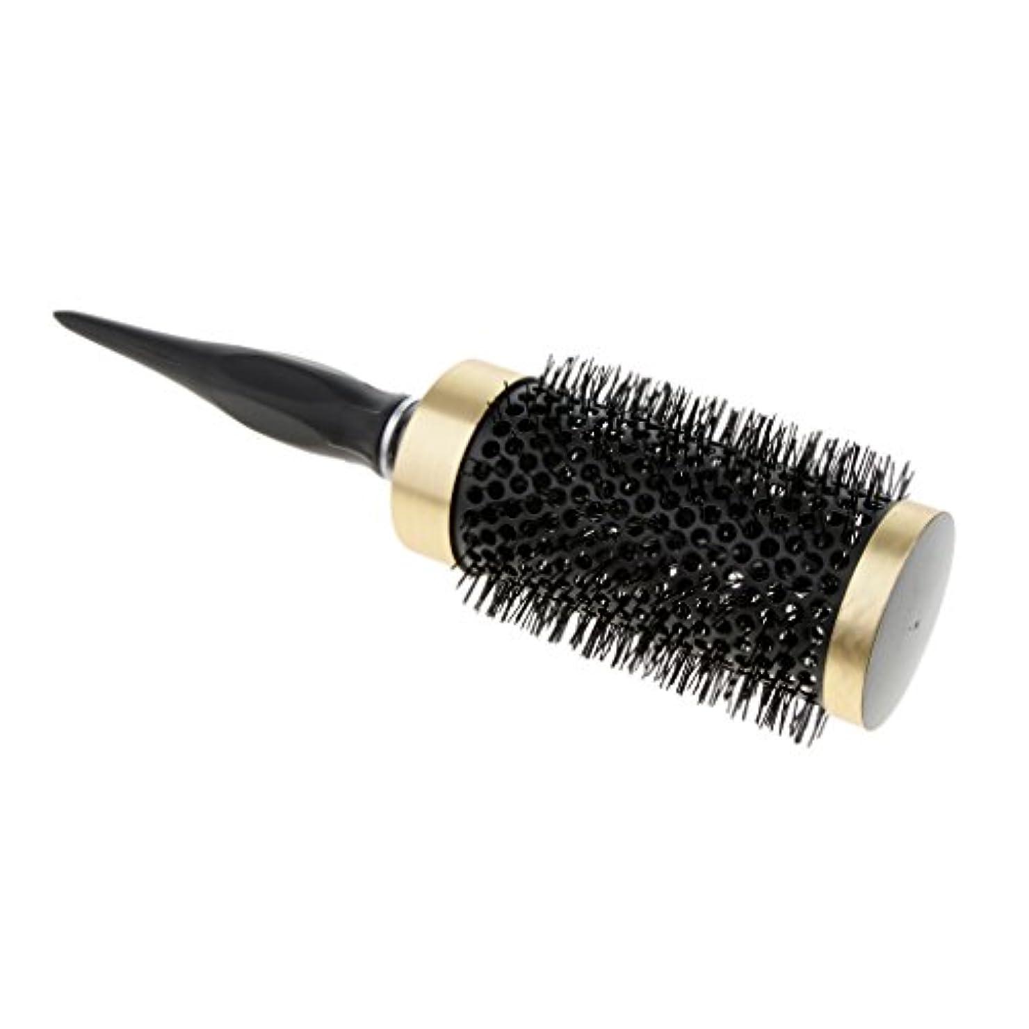 有利イーウェルヘルシーPerfk ロールブラシ ヘアブラシ ナイロンブラシ 静電気防止  カーリング 巻き髪ヘア 全5サイズ - 52mm