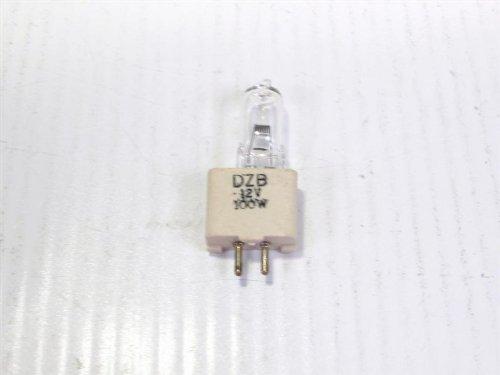 GE DZB Quartzline Projection Lamp, 12V 100W