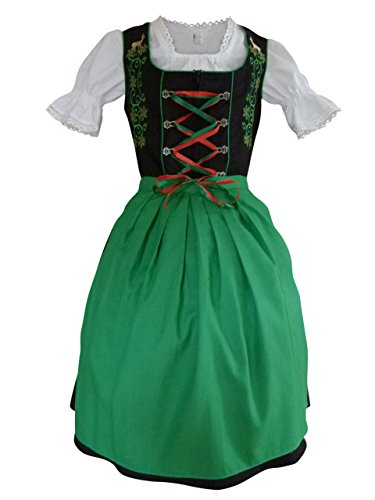 Dirndl-World-Womens-Di24-3-Piece-Mini-Dirndl-Dress-Blouse-Apron-Sizes-4-22