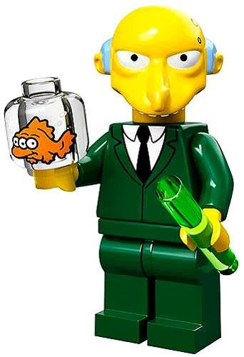 Lego 71005 The Simpson Series Mr. Burns Simpson Character Minifigures