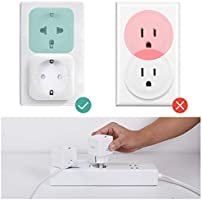 Enchufe Inteligente WiFi Zoozee Mini Smart Plug Funciona con Amazon Alexa, Echo, Google Home No se requiere Hub Control de Aplicación en Cualquier ...