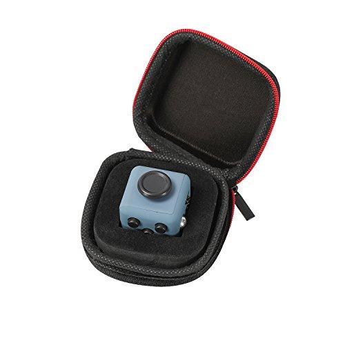 Fidget Cube avec housse cliquets Joystick Jouet de bureau avec touches pour le stress, peur, à concentrer ADHD Autisme adultes enfants étudiants Bureau Cadeau