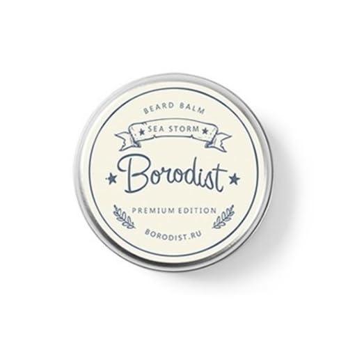 "'borodist Beard Balm ""Sea Storm (Premium Edition) épicée Parfum d'agrumes, 50g"