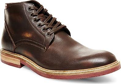 Steve Madden Men's Bronsen Brown Leather Boot 9 D ...