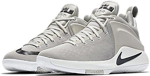 Nike Heren Lebron Zoom Getuige Basketbalschoenen Lichtgrijs / Zwart-zeilwit