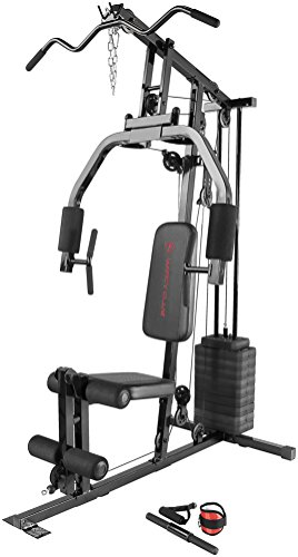 Marcy 100Lb. Stack Home Gym with Pulley, Press Arm, and Leg Developer MKM-81030