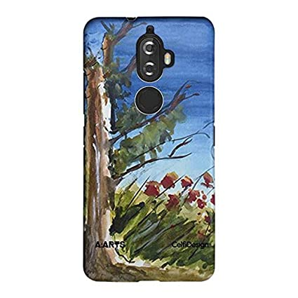Case by A:Arts - A Green Scene for Lenovo K8 Plus: Amazon in