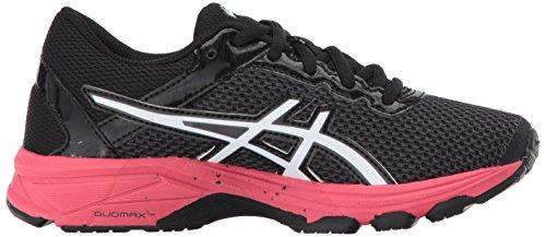 ASICS Unisex GT-1000 6 GS Running Shoe, Dark Grey/White/Rouge Red, 4 Medium US Big Kid by ASICS (Image #7)