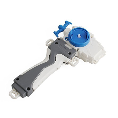 Bey battle Burst Left Spin Launcher blade Launcher and Grip (Compatible with B-97,B-86, B-100, B-66.)