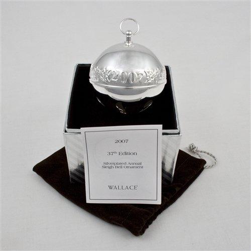 2007 Sleigh Bell (2007 Sleigh Bell Silverplate Ornament by)