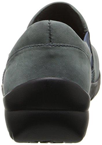 Klogs Usa Mujeres Ginebra Slip-on Shoe Blue Spruce