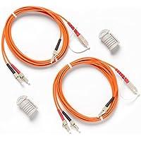 Fluke Networks Duplex MM 62.5µm Test Reference Cords for Adapter (Set of 2)